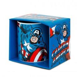 Marvel Comics - Comic Classic - Tazza - Mug Cup - Captain America - Logo Shirt