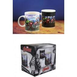 Marvel Comics - Comic Classic - Tazza - Mug Cup - Heat Change - Avengers - Paladone