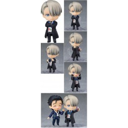 Nendoroid - 865 - Yuri!!! on Ice - Action Figure - Viktor Nikiforov Coach Ver. 10 cm