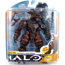 Halo 3: Mc Farlaine Toys - ODST Collection Brute Captain in VISR Mode New Color