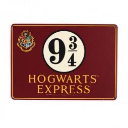 Harry Potter - Metal Tin Sign - Plate Poster - Platform 9 3/4 - 15 x21,5 cm