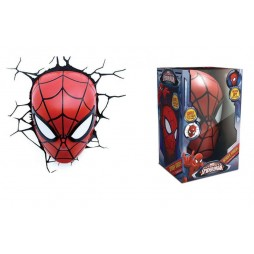 Marvel - Spider-Man - 3D Ambient Light - Spider-Man Mask - Maschera Spider-Man