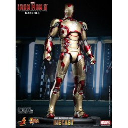 IRON MAN 12 MARK 42 DIE-CAST AF