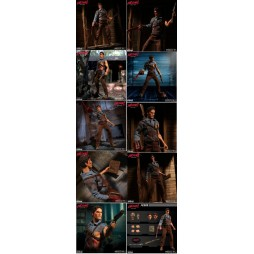 Mezco Toys - One Twelve Collective - Evil Dead 2 - Ash Williams - Action Figure - Cloth Version Scala 1:12