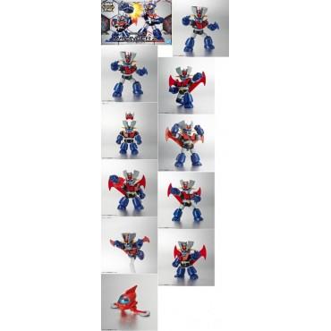 Mazinga Z - Mazinger Z - SD Cross Silhuette- Mazinger Z - SD Plastic Model Kit - Bandai 1/144