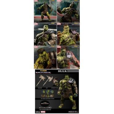 Mezco Toys - One Twelve Collective - Marvel Comics - Gladiator Hulk Thor Ragnarok Version - Action Figure - Cloth Versio