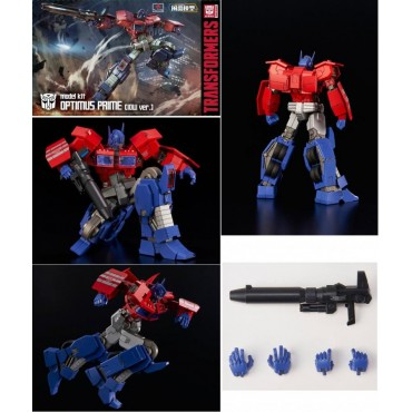 Transformers - Optimus Prime - Commander - Plastic Model Kit - Flame Toys