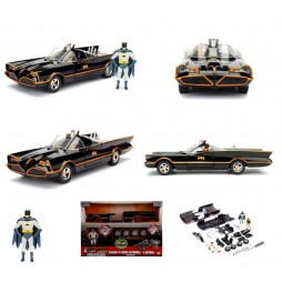 DC Comics - Batman - Build N\' Collect - Diecast Kit - 1/24 Scale - 1966 Classic TV Series - 1966 Batmobile + Batman & R