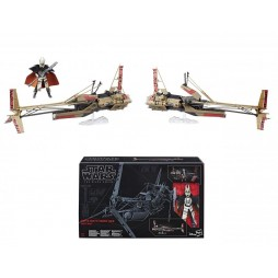 Star Wars - The Black Series - 05 - Vintage 6Inch Vehicle 2018 - Enfys Nest\'s Swoop Bike and Enfys Nest - Hasbro