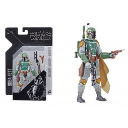 Star Wars - The Black Series - Episode V - Vintage 6 Inch - Black Series Action Figure - E3408 Boba Fett - 15 cm